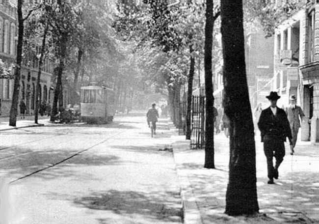Witte de Withstraat jaren 20
