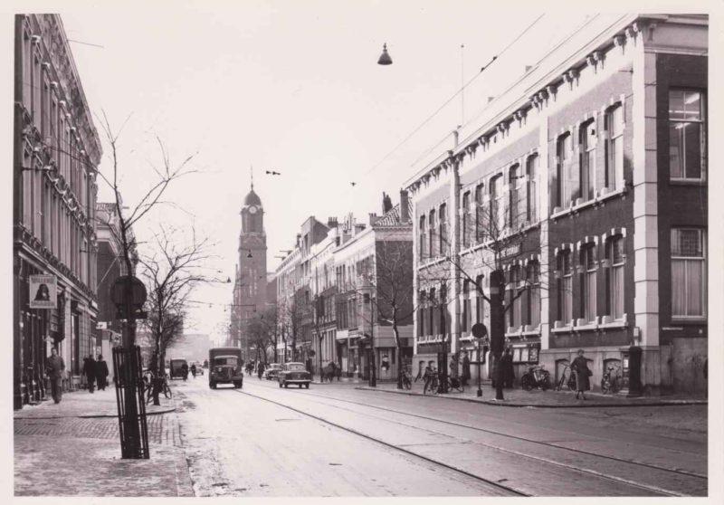 Witte de Withstraat - NRC en straatbeeld jaren vijftig (CW0779)