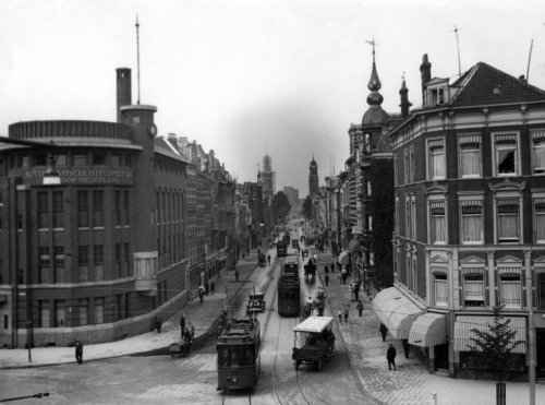 Witte de Withstraat - ter hoogte Rotterdamsche Hypotheekbank 1933 (Gahetna SFA001007346)