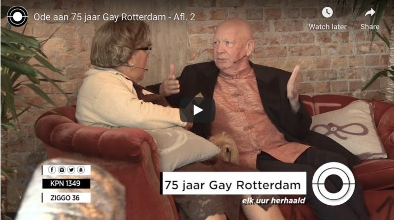 Ode aan 75 jaar gay - filmmaker Rob de Vries