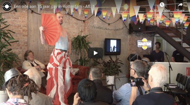 Ode aan 75 jaar Gay Rotterdam