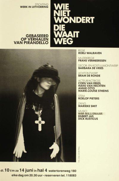 1986-06-09-Werk-in-Uitvoering-Wie-niet-wondert-waait-weg-poster-1-400x605
