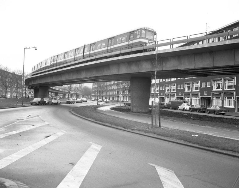 Metroviaduct Mijnsheerenlaan (1970)