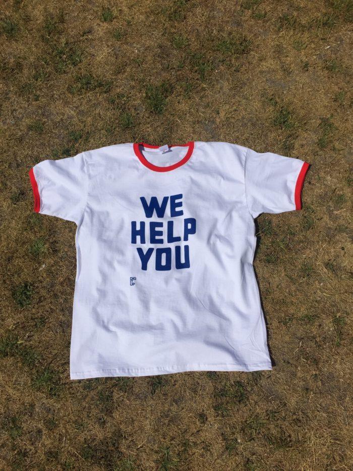 Tshirt WE HELP YOU