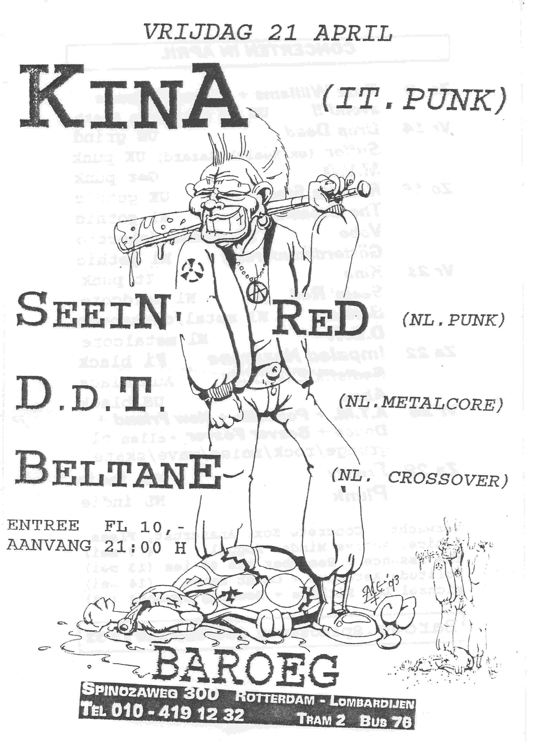 1995-04-21 Kina+Seein Red+D.D.T.+Beltane